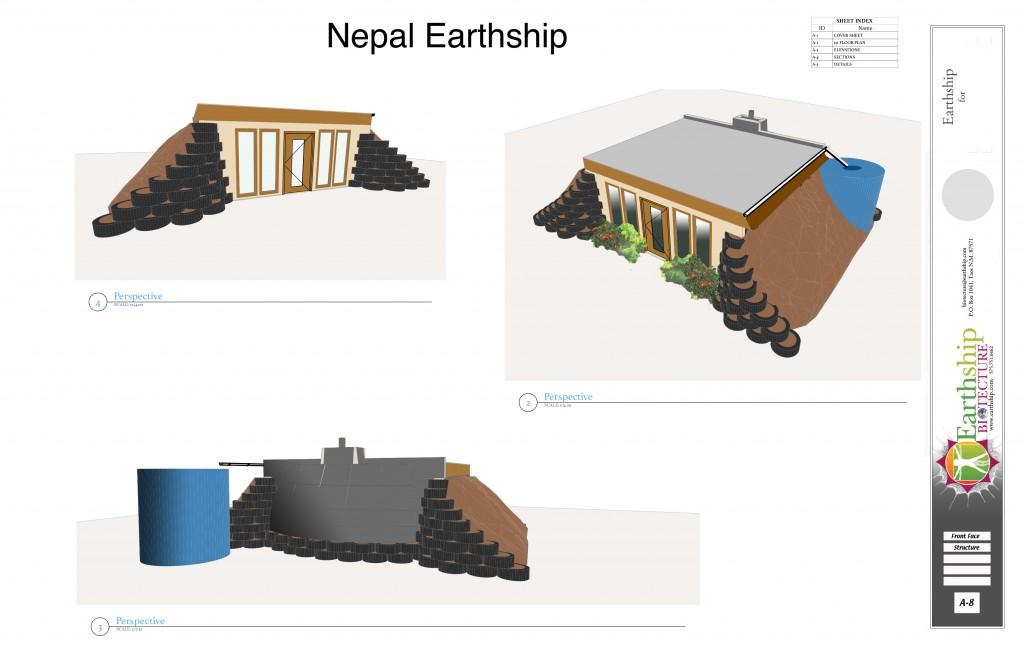Nepal Earthship